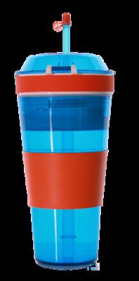 My Kool Kup/Kool Cup - 2 Colours of Blue & Red.
