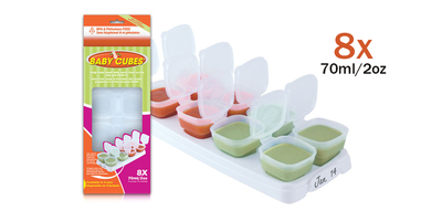 Baby Cubes 70ml / 2oz (1 tray)