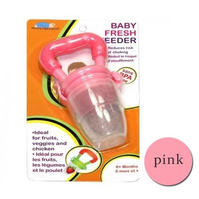Authentic Fresh Feeder Fruit Feeder Pacifier BPA Free - Pink Beli 1 Atau beli harga borong wholesale bulk quantity discount