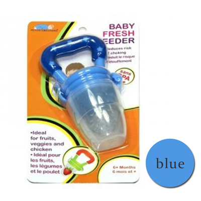 Authentic Fresh Feeder Fruit Feeder Pacifier BPA Free - Blue Beli 1 Atau beli harga borong wholesale bulk quantity discount