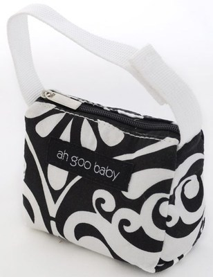 Ah Goo Baby Pacifier Teether Small Tote Bag - Audrey ( Buy 1 Get 1 Free)