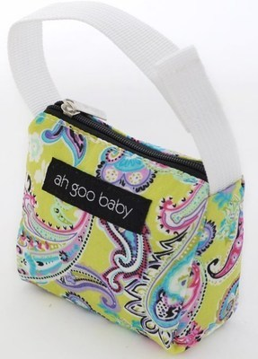 Ah Goo Baby Pacifier Teether Small Tote Bag - Bloom ( Buy 1 Get 1 Free)