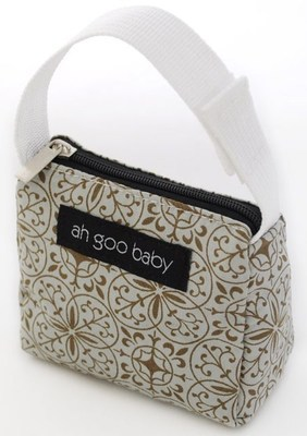 Ah Goo Baby Pacifier Teether Small Tote Bag - Morocco ( Buy 1 Get 1 Free)