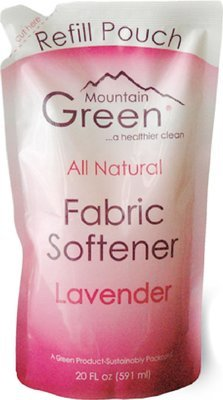 Mountain Green Natural Lavender Fabric Softener Refill Pack 20 fl oz. ONLY FOR PURCHASE IN WM. OFFER PACK BUY 1 FREE 1.