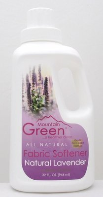 Mountain Green Natural Lavender Fabric Softener in Bottle 32 fl oz. ONLY FOR PURCHASE IN WM. BUY 1x BOTTLE SOFTENER RM 8.00 & GET 1x REFILL PACK FREE. ​