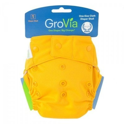 GroVia Single Shell Snap - Mandarin