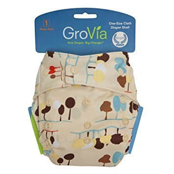 GroVia Single Shell Snap - Nature