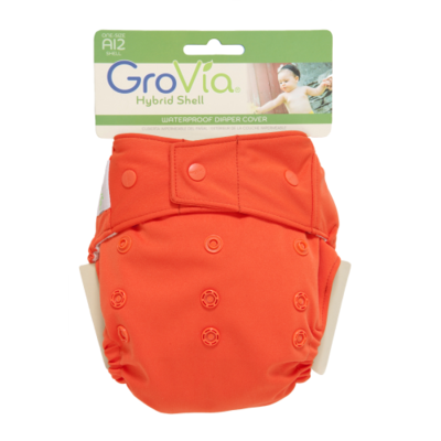GroVia Single Shell Snap - Persimmon