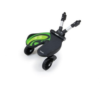 Bumprider stand-on-board, buggy board, Swedish Technology Made In S.Korea - Green