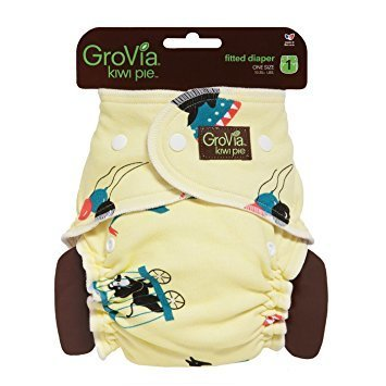 GroVia Newborn Kiwi Pie Fitted Diaper - Circus. One Size Only - Fits 10-35 Lbs babies. RM 39.00 BUY IT NOW.