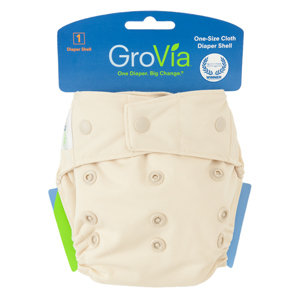 Grovia Single Shell Snap - Vanilla
