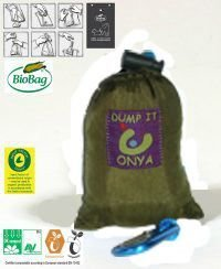 Onya Large Bags - Khaki/Olive & Apple Green