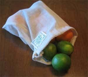 ECOBAGS Organic Cloth Bulk & Produce Bag - LARGE