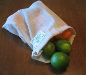 ECOBAGS Organic Cloth Bulk & Produce Bag - SMALL