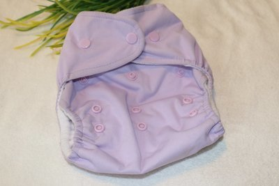 Baby Kangas One-Size Pouch Diaper- Soft Purple