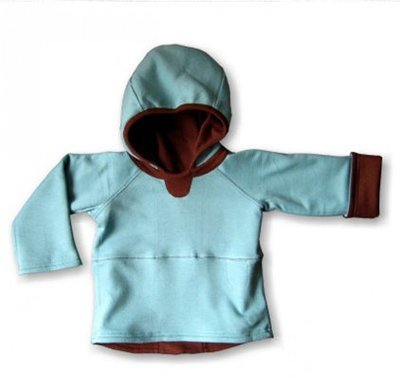 Wobabybasics - Bear Hug Me Hoodie Certified Organic Cotton Kids Clothing