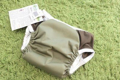 Super Undies Daily Diaper & Trainer Olive Green