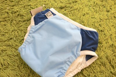 Super Undies Daily Diaper & Trainer Light Blue