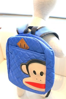 KIDS PRE-SCHOOL BAG PAUL FRANK - Electric Blue