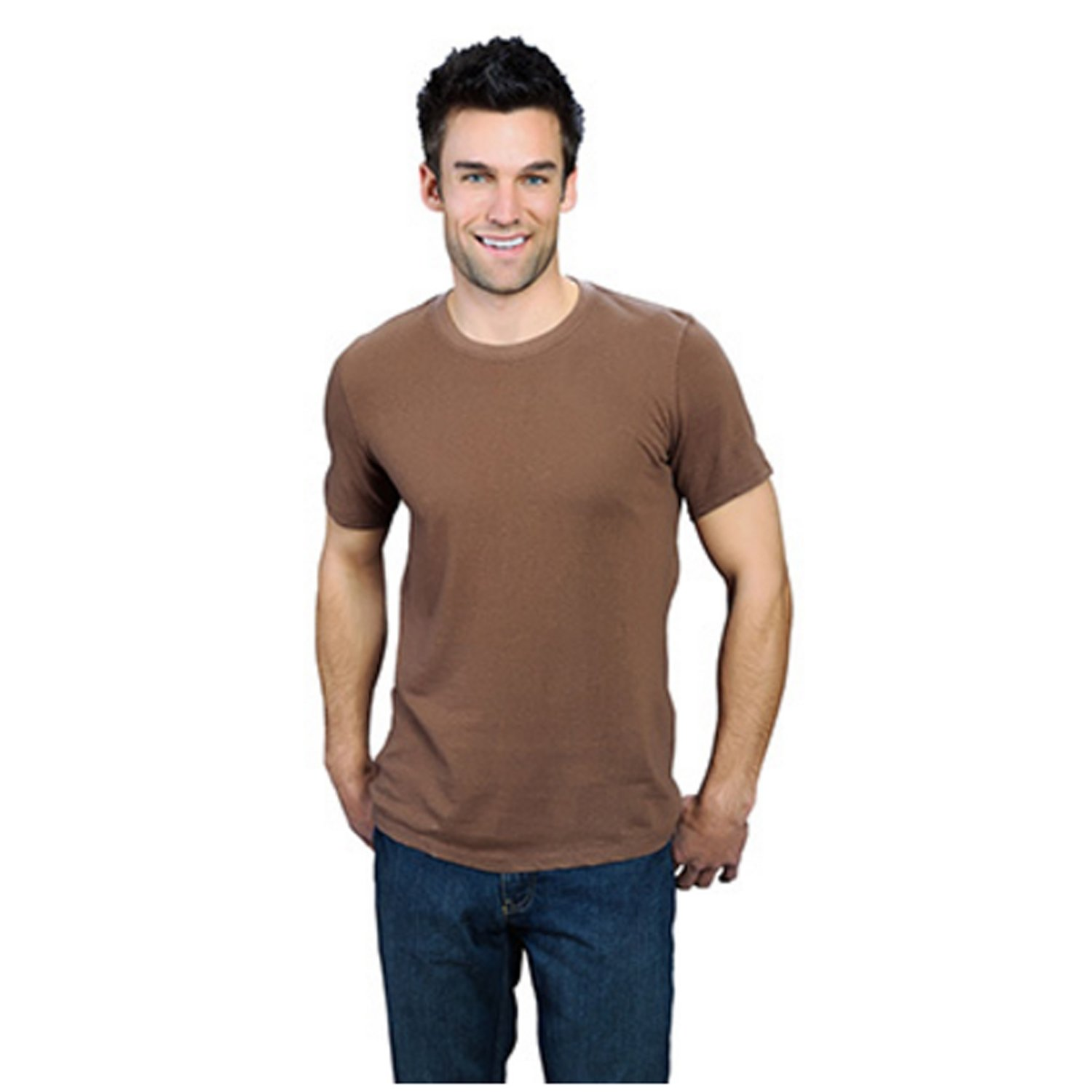 ONNO Men's Organic Bamboo T-shirts. Short Sleeves. Round neck.