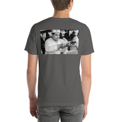 Coney Island   Photo (bw) by Burton Stuttman - t-shirt