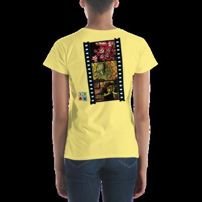Animation Frames   Art by Mike Stuttman / SDAW - women's t-shirt