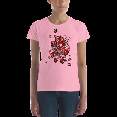Everything is OK   Art by Mike Stuttman / SDAW - women's t-shirt