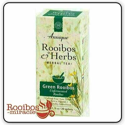 Green Rooibos Tea (unfermented Rooibos Tea)   | Annique