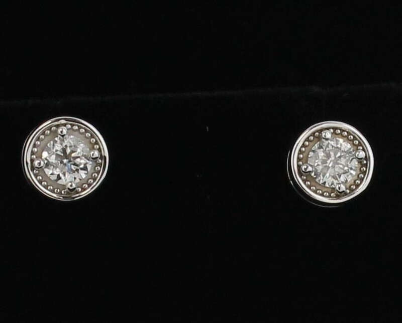 1.45 CT TW DIAMOND EARRINGS