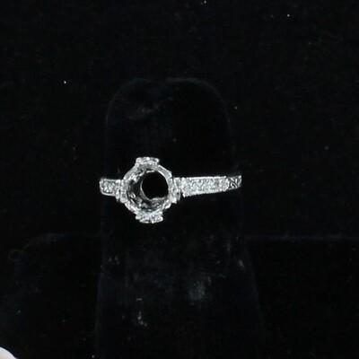PLATINUM DIAMOND MOUNTING