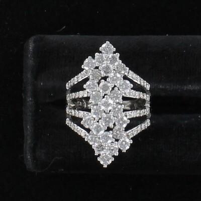 14KTW 3.0 CT TW ROUND BRILLIANT DIAMOND RING