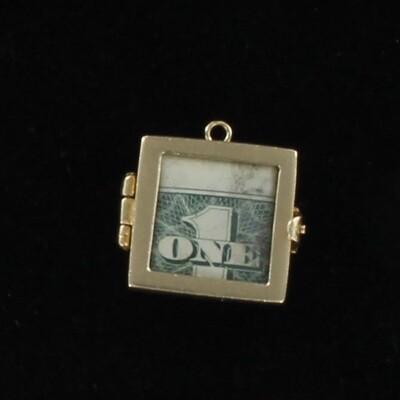 10KTY MONEY CHARM CIRCA 1950
