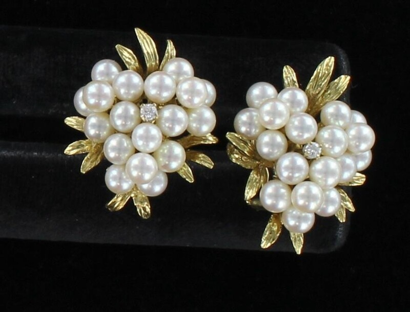 14KT PEARL EARRINGS