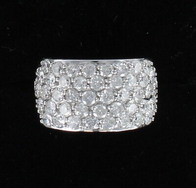 14KT 2.5 CT TW ROUND BRILLIANT DIAMOND RING