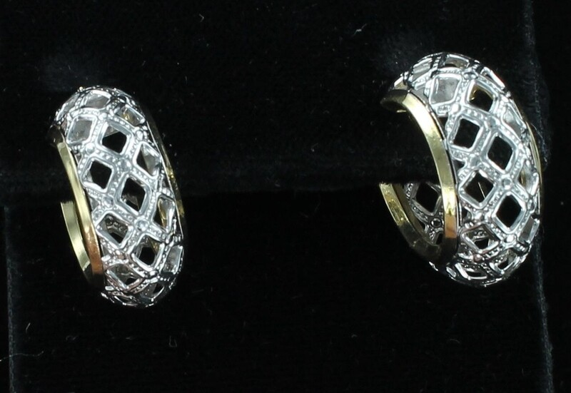 14KT/T HOOP EARRINGS