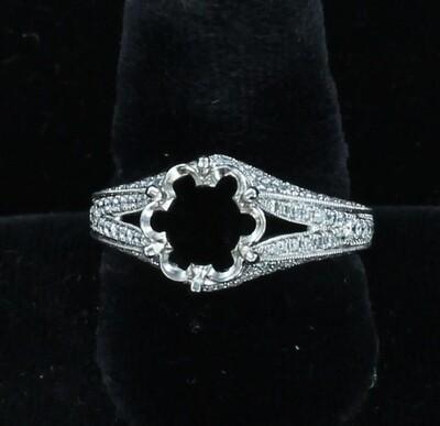 14KTW DIAMOND MOUNTING