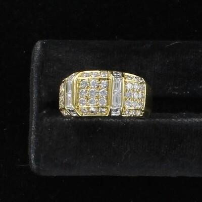 18KTY 2.20 CT TW DIAMOND RING