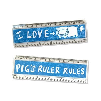 Pig's Cool Ruler
