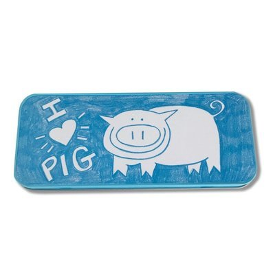 Pig's Awesome Pencil Tin