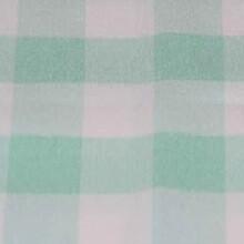 Mint Green & White Picnic Check Linens