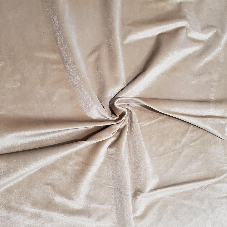 Taupe Premium Velvet Linens