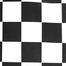 Black & White Race Check Lamour Linens
