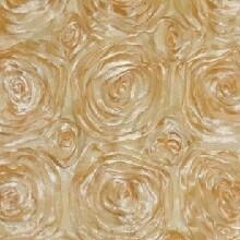 Gold Rosette Linens