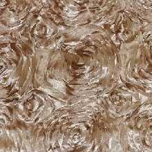 Champagne Rosette Linens