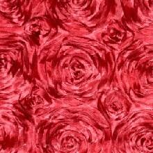 Apple Red Rosette Linens