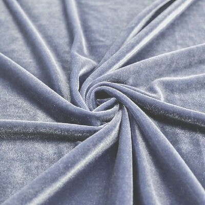 Dusty Blue Premium Velvet Linens