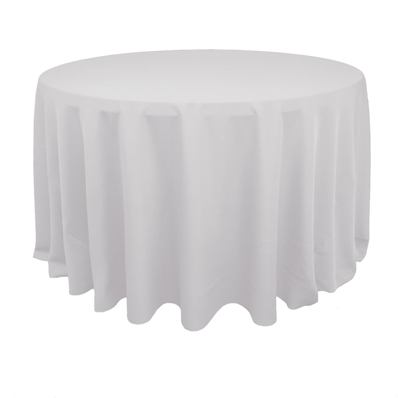 White Polyester Linens