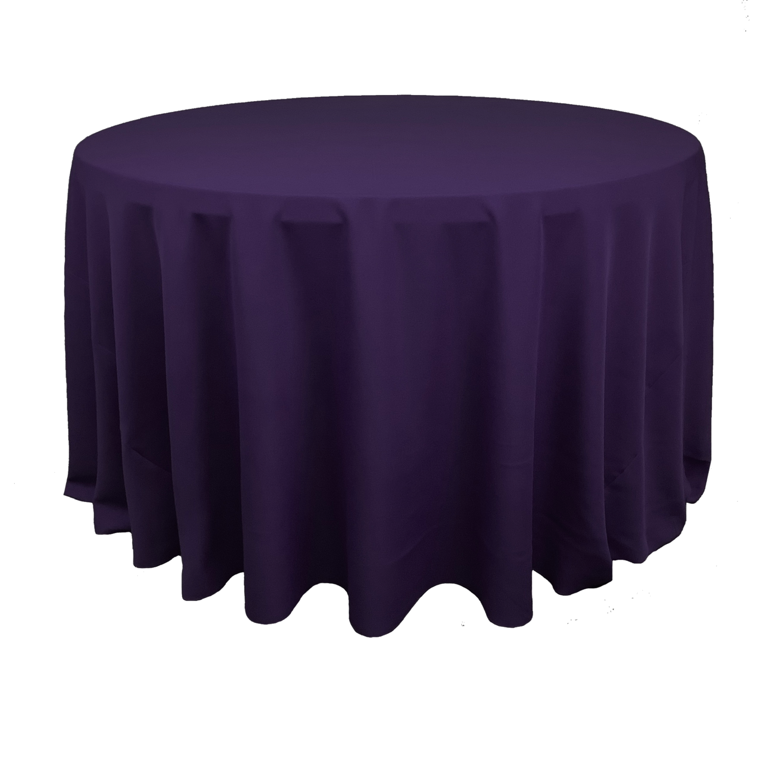Eggplant Polyester Linens