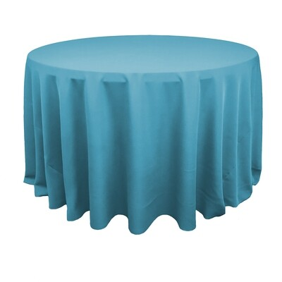 Turquoise Polyester Linens
