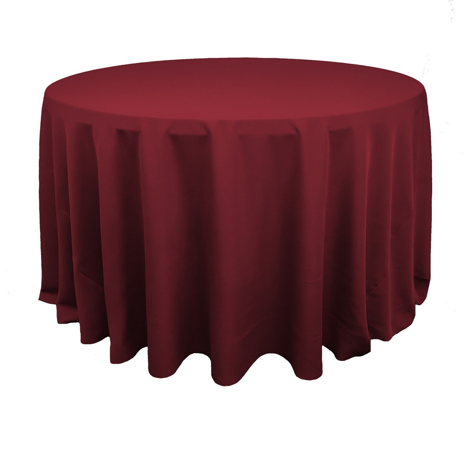Apple Red Polyester Linens